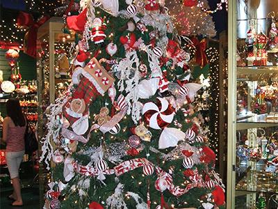 Boutique de Noël à Québec