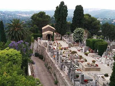 St-Paul de Vence cemetery