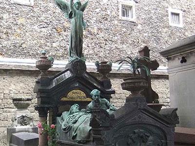 Cimetière à Paris