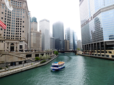 Croisière sur la rivière Chicago